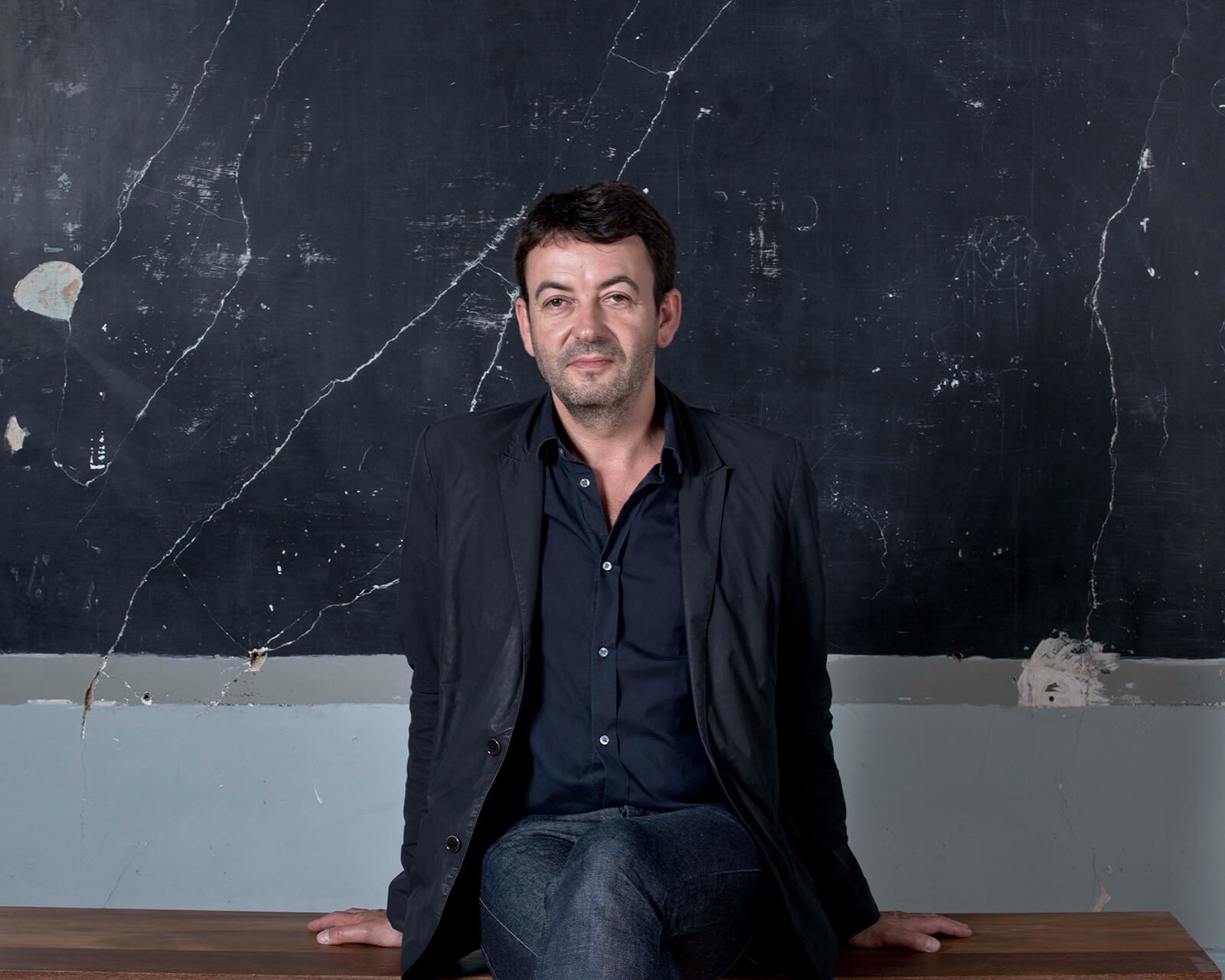 Eric Lápierre, chief-curator of the 5th edition os Lisbon Architecture Triennale and curator of the exhibition Economy of Means