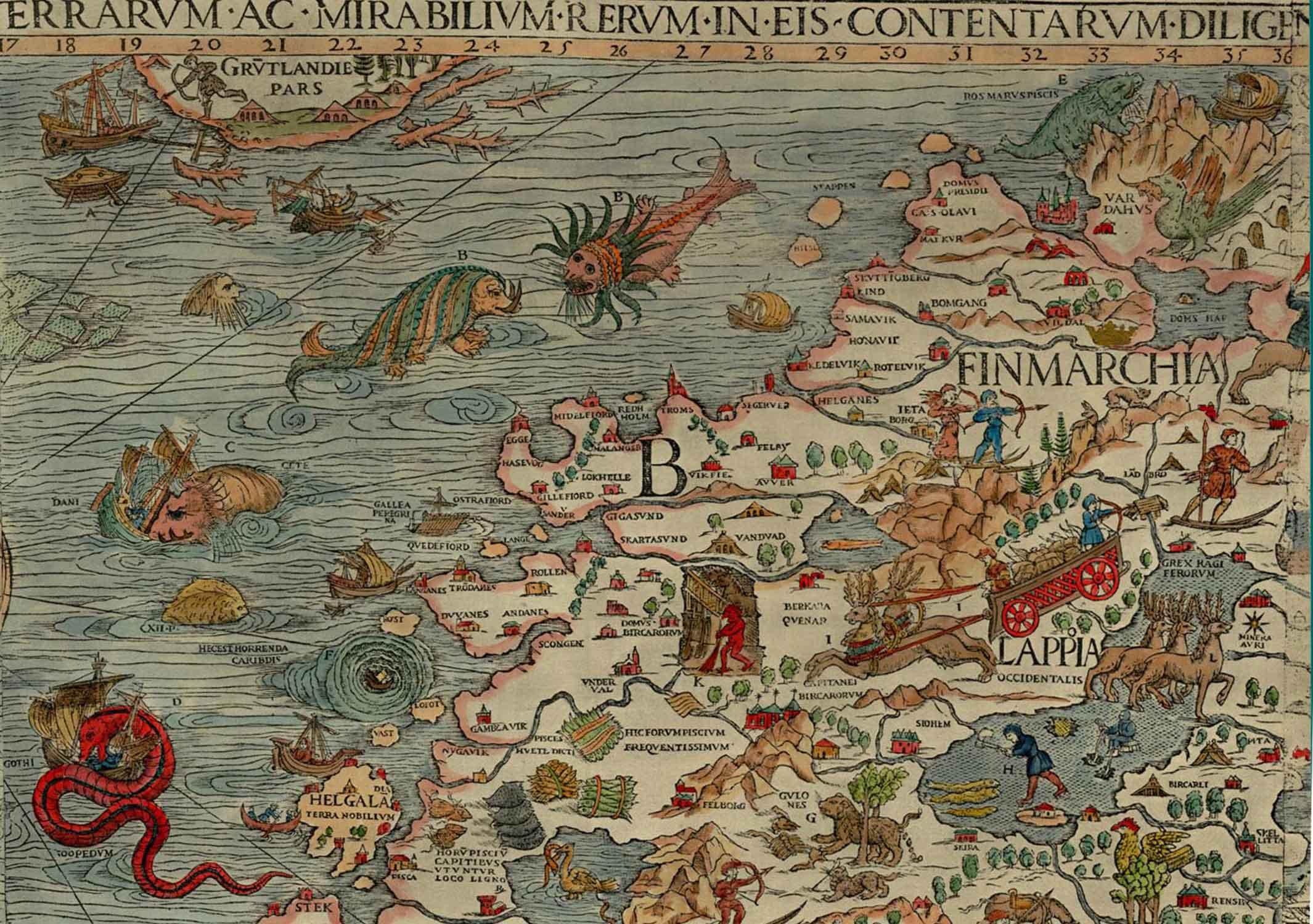 Carta Marina (Public Domain)